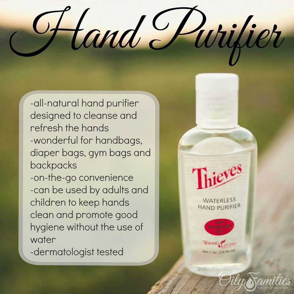 Diy Thieves Hand Purifier