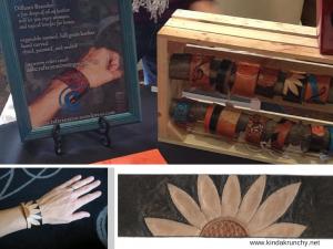leather diffuser bracelets