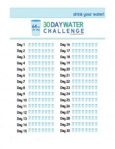 water-challenge